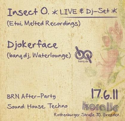 Durch Die Nacht Mit ... Insect O. + Djokerface