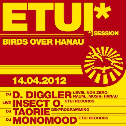 Etui Session 4: Birds Over Hanau with D.Diggler at Sabotage Dresden on April 14th 2012