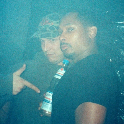 no U.F.O. tour /w Derrick May and DJ Doorkeeper at Flugzeugwerft Dresden October 1997