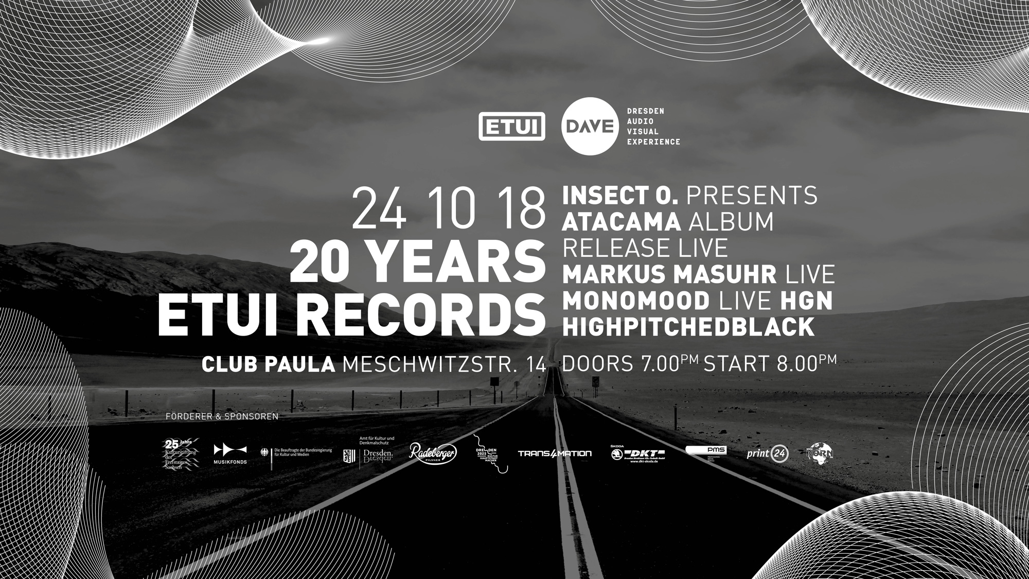Insect O. live at 20 Years Etui Records